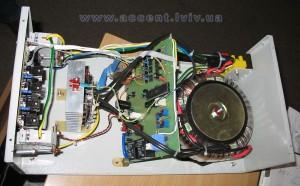 Стабілізатор напруги Phantom - фото з середини