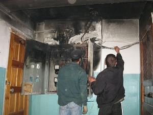 Пожежа в Миколаєві